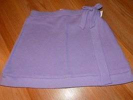 Size 10-12 Disney Wizards of Waverly Place Solid Lilac Purple Short Skir... - $15.00