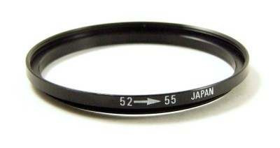 52mm-55mm Step Up Filter Ring Adapter