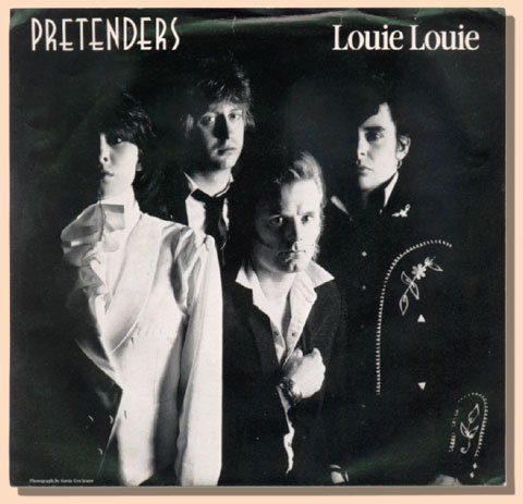 "THE PRETENDERS Louie Louie 1981 Canada SIRE PROMO 7"" PS"