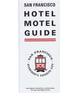 ORIGINAL Vintage 1967 San Francisco Hotel Motel Guide Tourism Travel - $12.19