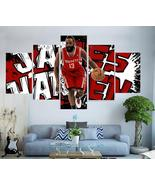 Houston Rockets Canvas Painting Poster 5 Piece Framed NBA James Harden A... - $74.99+