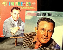 The best of Jim Reeves  and Jim Reeves- He'll Have To Go AA20-2118 Vintage image 1