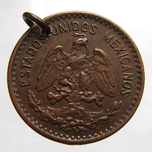Vintage MEXICO over 65 years old 1942 One Centavo Bronze Coi
