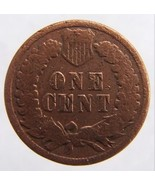 ANTIQUE Over 120 Years Old USA INDIAN Head 1887 One Cent Cop - $9.99