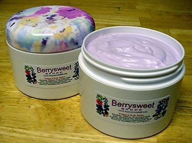 Flower Petals Shea Body Butter Cream 8oz BERRYSWEETSTUFF.COM