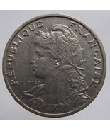 ANTIQUE Over 100 Years Old 1904 FRANCE 25 Centimes Marianne  - €8,82 EUR