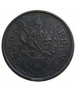 WWI GERMANY Werder 10 Pfennig no date Notgeld C... - ₨644.68 INR