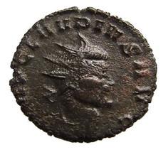 Ancient Roman Coin Empire Emperor Claudius 2nd Gothicus 268- - $19.99