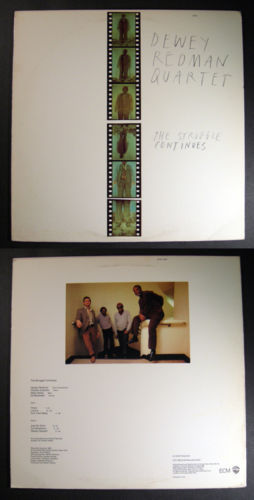 free jazz DEWEY REDMAN The Struggle Continues ECM LP