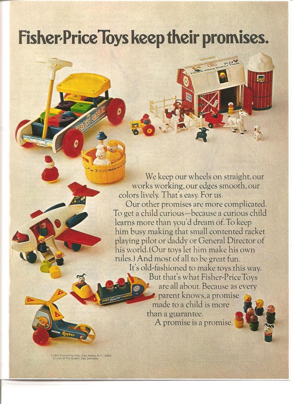 Fisher price fc may 1971