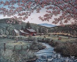 Kathleen Cantin Springtime Promise Countryside Farm - $175.00