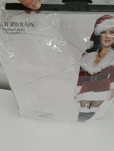 Underwraps Secret Santa Claus Sexy Holiday Christmas Adult Womens Costume Small - $19.79