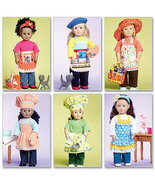 McCalls Pattern #6451 Doll Clothes for 18 inch Dolls - $18.00