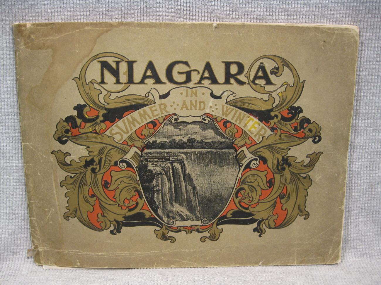 Niagara Falls in Summer and Winter