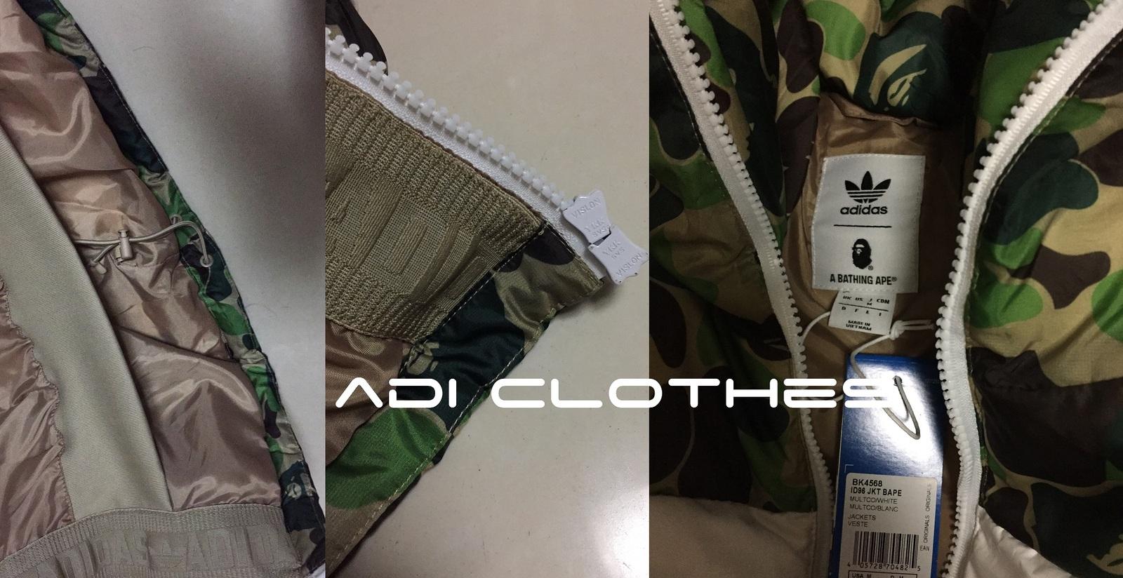 Adidas Originals Outlet Men ID96 Down Bape and 50 similar items