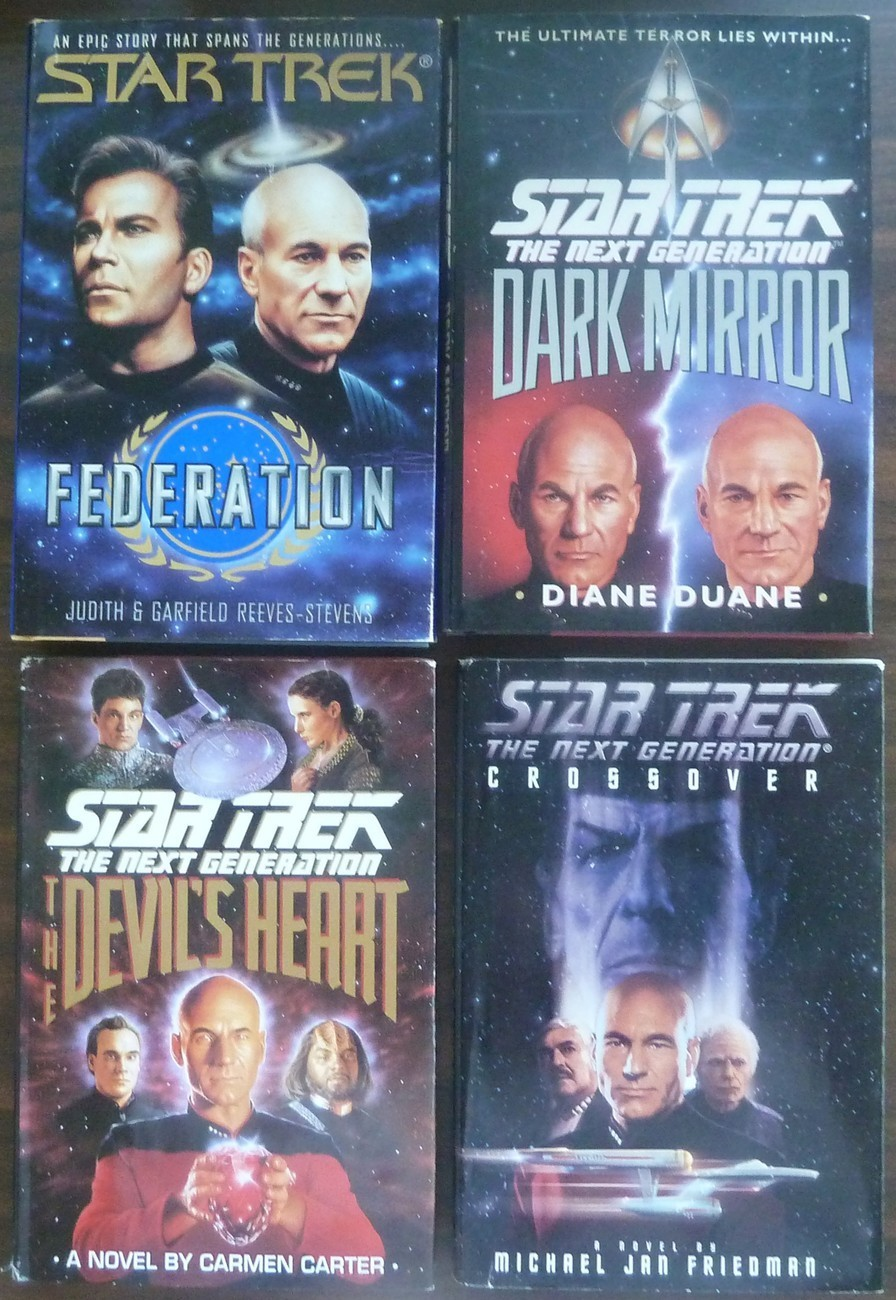 4 Star Trek, The Devil's Heart, Dark Mirror, Crossover, Federation