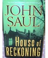 John Saul - House of Reckoning - $7.00