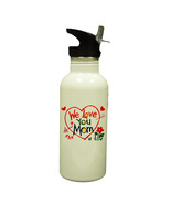 Personalized Custom Photo Mother's Day Water Bottle #2 Gift - £14.24 GBP