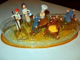 Disney - Ratatouille Figurine Play SET- Disney Store EXCLUSIVE- New - G1 - $57.77