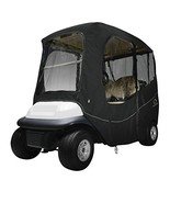 Classic Accessories Fairway Golf Cart Deluxe Enclosure, Black, Short Roof - $100.29