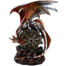 Pacific Giftware Steampunk Inspired Mechanical Gearwork Dragon Sculpture... - $49.49