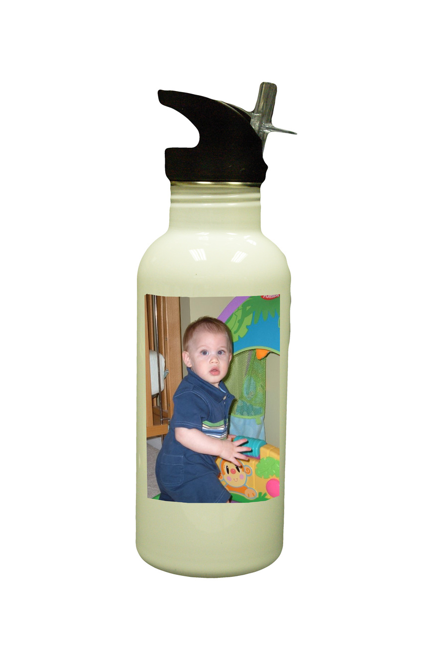 Personalized Custom Photo Mother's Day Water Bottle #3