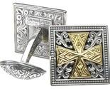 02007100 gerochristo 7100 gold silver medieval cufflinks 1 thumb155 crop