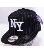 Brand New, Pin Stripe New York Baseball Caps by City Big - Medium (7 1/4) - $3.95