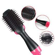 1000W Professional Hair Dryer Brush 2 In 1 Hair Straightener Curler Comb... - $31.10