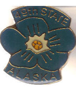 ALASKA 49TH STATE Pin - $1.95