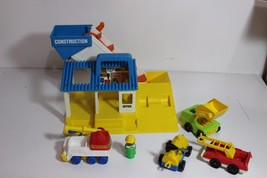 Vintage Tonka Construction Set, some pieces may be Fisher Price Little P... - $29.95