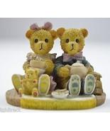 Avery Creations 1994 Bears Having Tea Resin Figurine Decorative Collecti... - $9.99