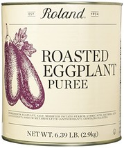 Roland Foods Roasted Eggplant, 6.39 Pound
