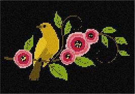 pepita Bird and Flowers Needlepoint Canvas - $39.60