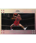 Dennis Rodman Topps Chrome 07-08 #93 Refractor Chicago Bulls San Antonio... - $55.00