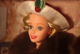 Barbie Doll Hallmark 1995 Holiday Memories Victorian 1910 Mattel Christmas - $37.62
