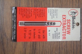 Skokie Screw Extractor No. X-4 - $7.00