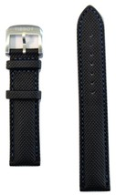 Original Tissot QUICKSTER 19mm Grey/ Gray Synthetic Watch Band Strap For... - $78.00
