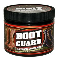 Boot Guard Leather Dressing: Restores and Conditions Leather Boots, Shoe... - $9.81
