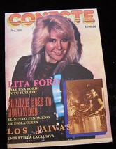 Conecte Music Magazine 389 Lita Ford Frankie Goes To Hollywood Kiss + More - $12.99