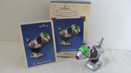 Christmas Hallmark Keepsake 2002 Robot Parade Ornament - $6.79