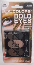 L.A. Colors Bold Eyes Eyeshadow Palette**SMOKEY WARM BES524** New/Sealed - $3.95