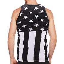 Men's USA American Flag Sleeveless Shirt Summer Beach Patriotic Tank Top image 9