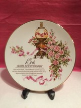 Avon Roses Collector Plate 15th Anniversary - $8.95