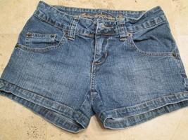 Arizona Jean Company Girls Shorts Size 0 Blue Daisy Dukes #H1 - $13.99