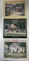 (3) Jim Harrison Coca Cola Calendar Lot 1997 1998 1999 One Signed SEALED - $29.69