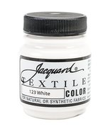 Jacquard Products Jacquard Textile Color Fabric Paint, 2.25-Ounce, White - $3.95