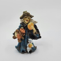 K's Collection - Witty Witches - Teddy Bear & Pumpkin Bread - Halloween  - $10.00