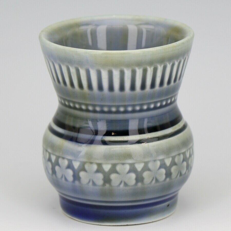 Vintage WADE Irish Porcelain Shamrock Toothpick Holder