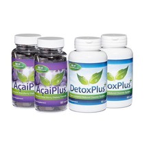 Acai Plus & Detox Plus Cleanse Combo Pack 2 Month Supply - $90.99